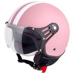 Vinz Fiori Fashionhelm - Roze