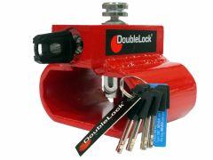 DoubleLock Triangle Lock RED SCM - SCM goedgekeurd klasse zwaar