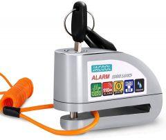 Vinz Elbroes 7mm Schijfremslot Alarm – Zilver