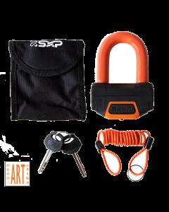SXP ART4 Schijfremslot - Oranje