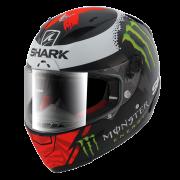 Shark RACE-R Lorenzo Monster - Mat Zwart / Rood / Wit