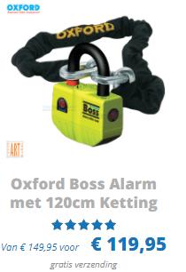 Oxford Boss Alarm met 120cm ketting ART 4