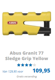 ABUS Granit 77 Sledge Grip