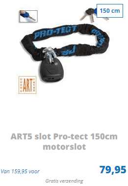 ART5 slot Pro-tect 150cm motorslot