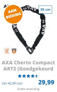AXA Cherto compact 95cm fietsslot