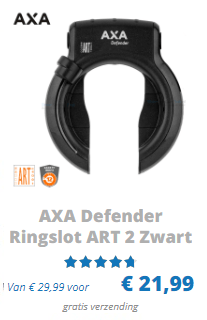 AXA defender ART 2 zwart