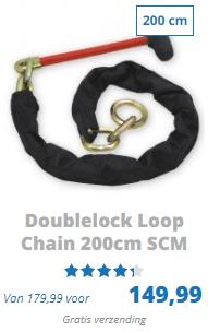 Doublelock Loop chain 200cm SCM goedgekeurd