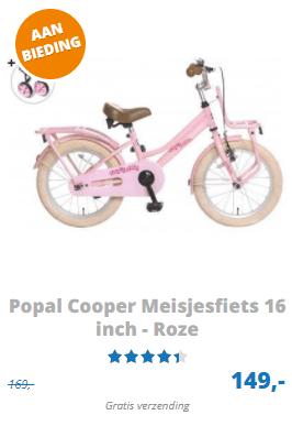 Popal Cooper kinderfiets