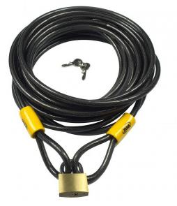 Vinz Kabelslot 10 meter / 10mm + hangslot