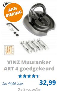 Vinz muuranker ART 4 goedgekeurd